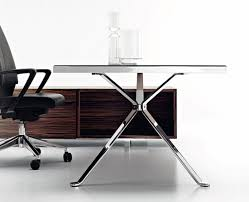 Glass Office Desk Office Red Accent Office Furniture With Glass Top Office Desk And