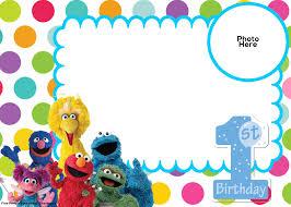 1st birthday invitation template free printable choice image