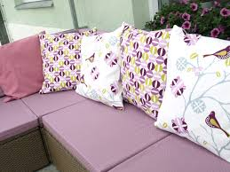 Pink Round Cushion Decor Sparkling Outdoor Cushion Covers Promotion With Abstract Of