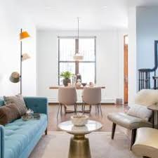 Living Rooms With Blue Couches by Midcentury Modern Living Room Photos Hgtv