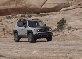 commander jeep 2016 driving the jeep renegade commander concept off road at the easter
