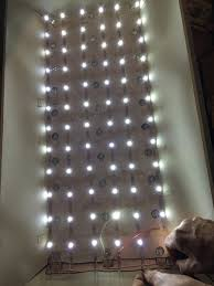 replacing led lights in tv fix an led tv with christmas lights