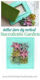 How To Make Vertical Garden Wall - diy vertical succulents garden wall hanging the homespun hydrangea