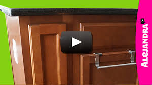 video how to organize a narrow kitchen cabinet narrow kitchen
