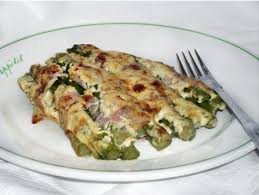 cuisiner asperge verte recette gratin asperges vertes jambon parmesan cuisinez gratin