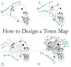 how to design a town map fantastic maps