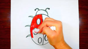how to draw a ladybug cute drawing for kids youtube