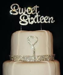 bling cake toppers bling cake toppers rhinestone teardrop topper cheap monogram