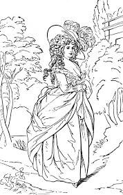 coloring pages victorian ladies hands history schools