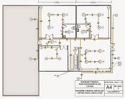 100 contoh wiring diagram listrik slo sertifikasi laik