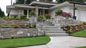 Backyard Retaining Wall Ideas 10 Custom Retaining Wall Designs For Portland Landscaping