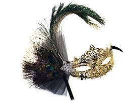 rhinestone masquerade masks janelle laser cut metal gold venetian peacock w rhinestones