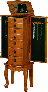 Pier One Mirror Jewelry Armoire Top 10 Best Jewelry Armoires Reviews 2016 2017 On Flipboard