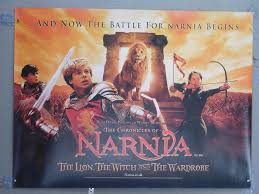 narnia film poster narnia the lion the witch and the wardrobe vintage movie poster