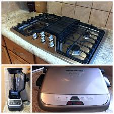 Gas Cooktop Sears Father U0027s Day Kitchen Appliance Upgrade From Sears Mocha Dad