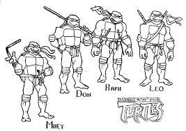 teenage mutant ninja turtle sheets coloring free download
