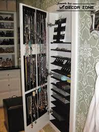 Jewelry Storage Cabinet 20 Original Jewelry Storage Suggestions And Options Interior