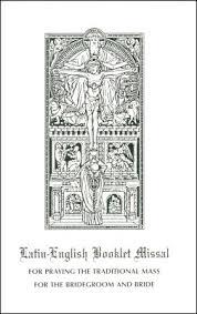 Catholic Wedding Booklet How To Choose A Catholic Missal