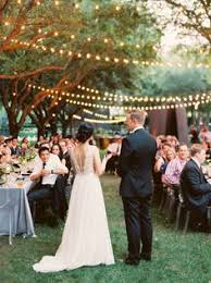 Outdoor Backyard Wedding Ideas by 30 Creative Ways To Light Your Wedding Day Wedding Lighting