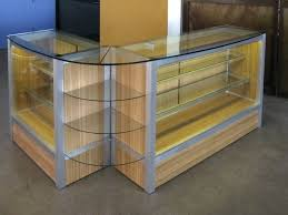 glass counter display cabinet diy glass countertop display case best diy do it your self