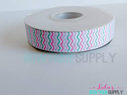 printed ribbon wholesale wholesale spools crown waves bow supplies grosgrain