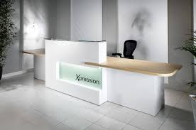 Reception Desk Black Contemporary Ikea Reception Desk For White Office Ideas With