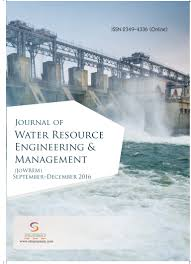 journal of water resource engineering and management vol 3 issue 3
