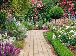 decoration beautiful home flower gardens ideas trends with