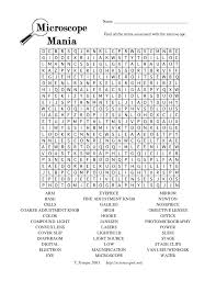 microscope mania worksheet free worksheets library download and
