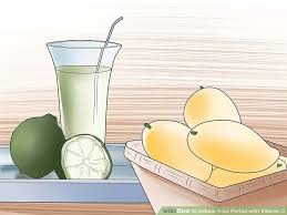 how to induce your period with vitamin c with pictures wikihow