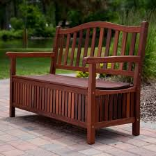 Outdoor Storage Bench Seat Outdoor Storage Bench With Planters Home Design Ideas