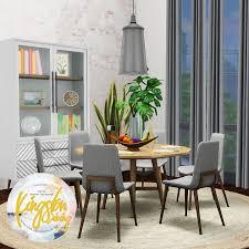 kingston dining room table simsational designs kingston dining 20 new dining room items