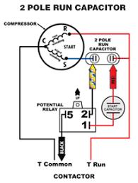 ac run capacitor wiring diagram efcaviation com