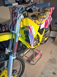 1991 suzuki rm125 build old moto motocross forums