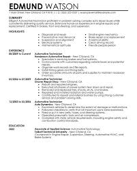 Automotive Resume Samples by Crafty Design Ideas Technical Resume Examples 1 Unforgettable