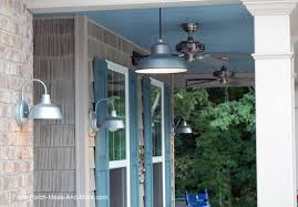 Barn Style Lights Hang Porch Lights For Ambiance And Safety