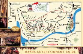 missouri caves map fantastic caverns america s only ride thru cave springfield