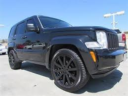 used jeep liberty rims find used 08 jeep liberty limited black navigation sky slider 22