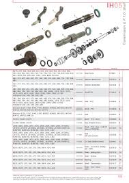 case ih catalogue transmission u0026 pto page 109 sparex parts