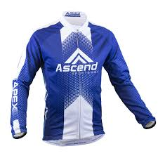 cycling jacket blue apex elite thermal cycling jacket ascend sportswear