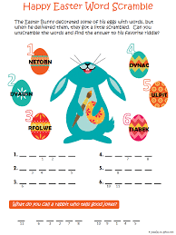 fun activity for the kids on easter day give them something to do