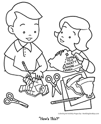 christmas party coloring pages making christmas party