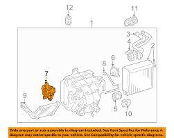 lexus rx330 heater not working toyota oem evaporator heater servo 871060e010 ebay