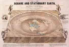 map of eart flat earth theory revealed in map