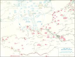 Normandy Invasion Map Hyperwar The War In Western Europe Part 1 June To December