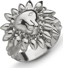silver lion ring holder images Monica rich kosann sterling silver lion courage ring with white jpg
