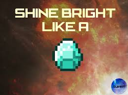 diamond minecraft minecraft shine bright like a diamond guiartpt by guiartpt on