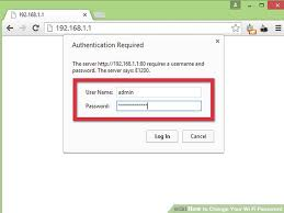 Resetting Wifi Password | how to change your wi fi password 7 steps with pictures