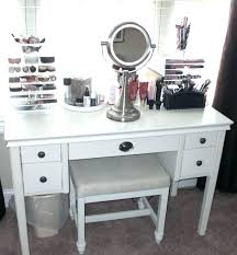 white bedroom dressing table furniture white stained wood vanity table with drawer and round