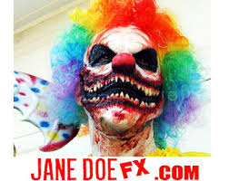 Scary Clown Halloween Costumes Men Killer Clown Mask Scary Clown Costume Ahs Clown Prosthetic